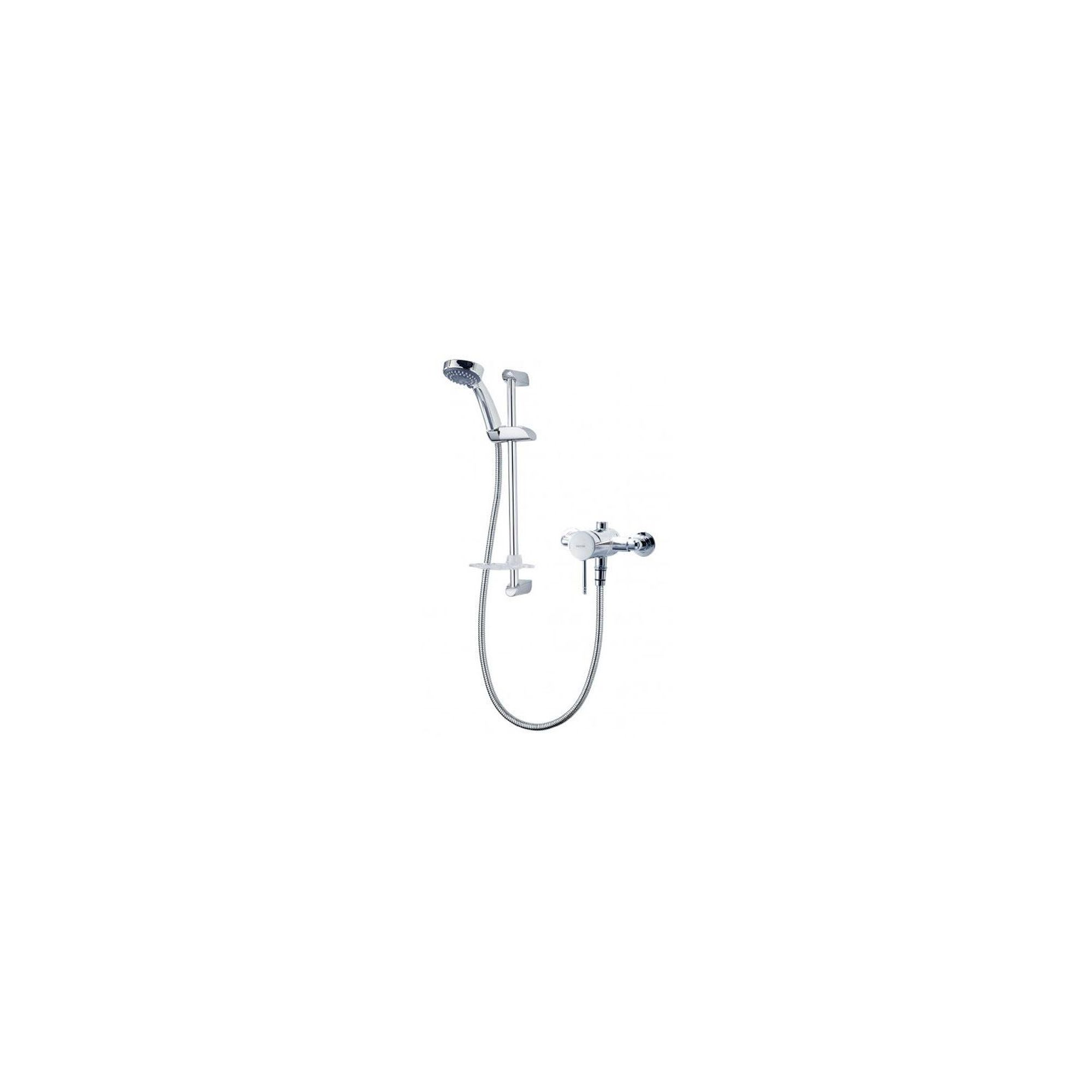 Triton Thames Exposed Thermostatic Single Lever Mixer Shower Chrome at Tescos Direct