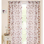 Blossom Slot Top Voile Panel - Beige