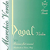 Dogal V21E Green Series Violin String Set -Half to 1/4