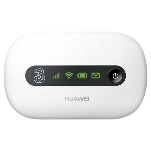 Three™ 1GB Huawei E5220 MiFi® Pay as You Go