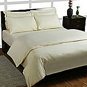Homescapes 200 Thread Count Egyptian Cotton Pillowcase Cream Body Size Housewife Style