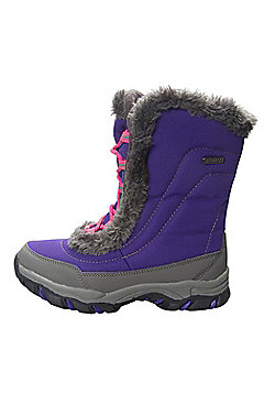 Ohio Kids Snow Boot - Purple