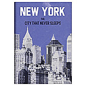 New York A6 Notebook