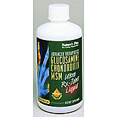 Natures Plus Ultra Rx Joint Liquid- Glucosamine Chondrotin MSM 30 Liquid