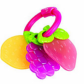 Tomy Fruity Teethers Pink Ring
