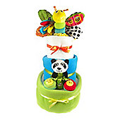Lamaze 3 Tier Baby Boy Nappy Cake