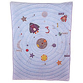Bizzi Growin Far Away Universe Baby Coverlet