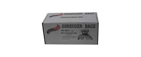 Safewrap Shredder Bag 250 Litre Pack of 50 RY0474
