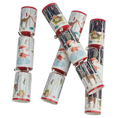 Tesco Cube Santa & Co Christmas Cracker, 12 Pack
