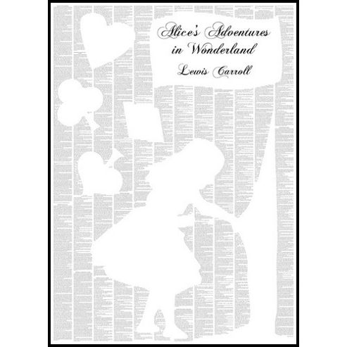 Spineless Classics Alice's Adventures in Wonderland Wall Art