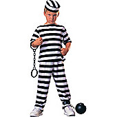Child Convict Boy Costume Large