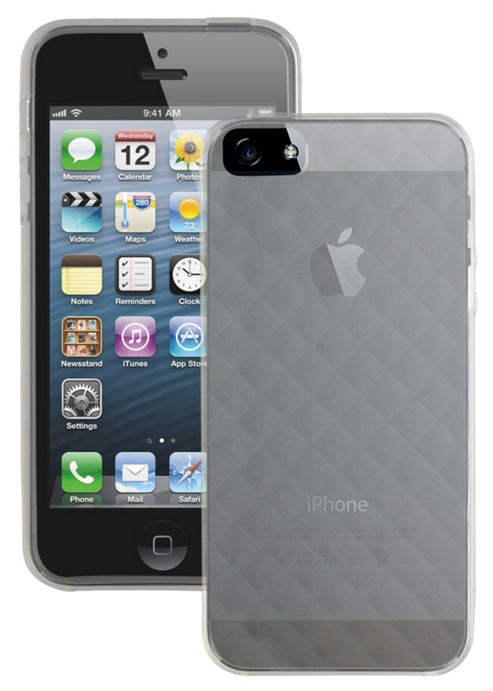 Case it Soft Silicone Glacier Case for Apple iPhone 5 - Clear