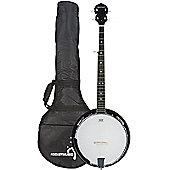 Rocket Deluxe Western 5 String Banjo