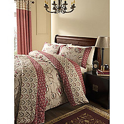 Catherine Lansfield Home Premium Multi Coloured Kashmir Single Quilt Set