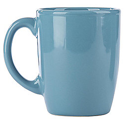 Tesco Basics Teal Mug