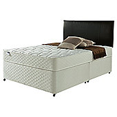 Silentnight Miracoil Comfort Micro Quilt Non Storage Divan - Double (4ft 6in)