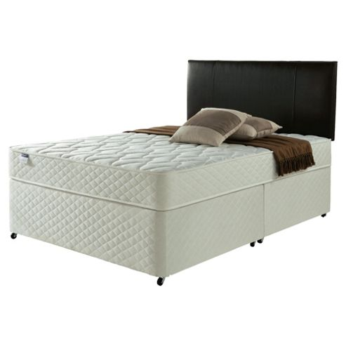 Silentnight Miracoil Comfort Micro Quilt Non Storage Divan, Double