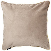 McAlister Beige Matt Velvet Cushion Cover - 43x43cm