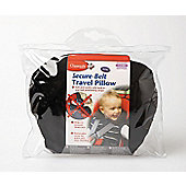 Clippasafe Secure Belt Travel Pillow Black 1-3 Years