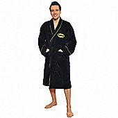 Fleece Batman Dressing Gown