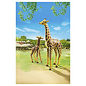 Playmobil 6640 City Life Zoo Giraffe with Calf