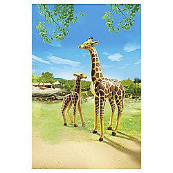 Playmobil 6640 Giraffe with Calf