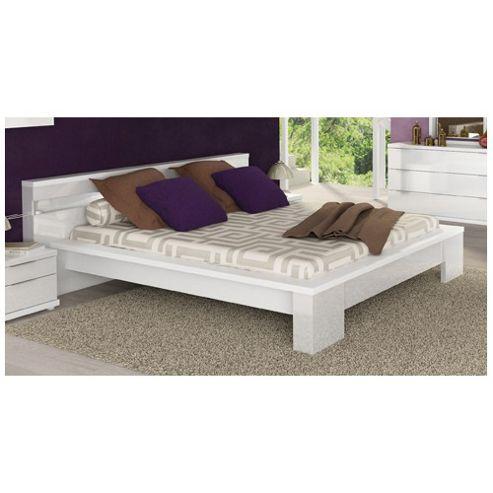 buy gami tara european bed frame white from our small doubles range tesco
