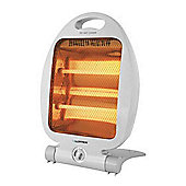 Lloytron Quartz Heater with 2 Heat settings 800W - Grey