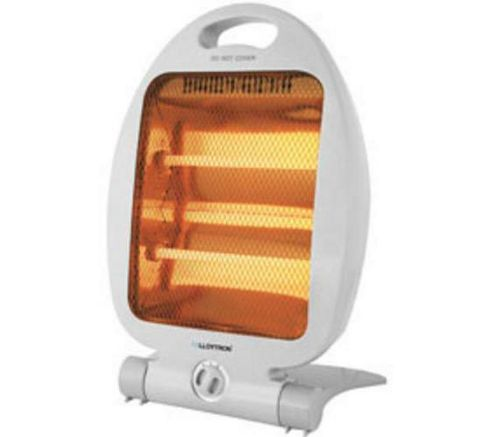 Lloytron Quartz Heater with 2 Heat settings 800W - Grey