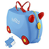 Trunki Ride-On Blue Suitcase