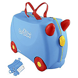 Trunki Ride-On Blue Suitcase