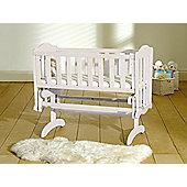 Saplings Glider Crib - White