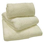 Luxury Egyptian Cotton Bath Towel - Cream