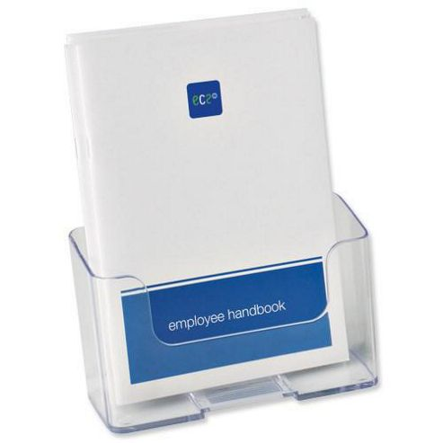 Deflecto Literature Holder A5 Clear 74901