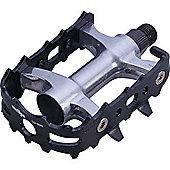 Wellgo 9/16' LU926 Alloy ATB Pedals - Silver