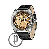 Police Texas Mens Leather Watch - 13836JS-61