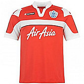 2012-13 QPR Away Lotto Football Shirt (Kids) - Red