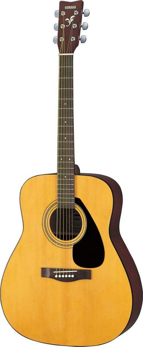 Yamaha F310 Acoustic Guitar (Natural) & Basic Starter Pack