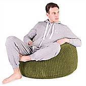 Lounge Pug™ Classic Cord Bean Bag - Lime