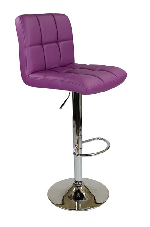 buy cuban purple bar stool from our bar tables stools. Black Bedroom Furniture Sets. Home Design Ideas
