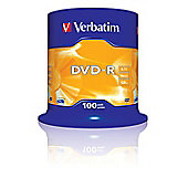 Verbatim AZO DVD-R 100 Pack Spindle