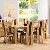 Chepstow Oak Extending Dining Table