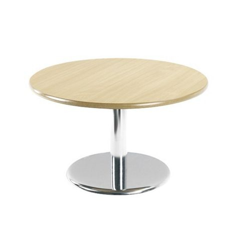 Buy Office Basics Economy Coffee Round Coffee Table in Beech - 80cm ...