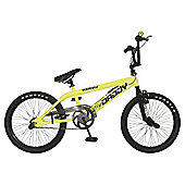 Big Daddy BMX Bike with Spokes, Neon Yellow