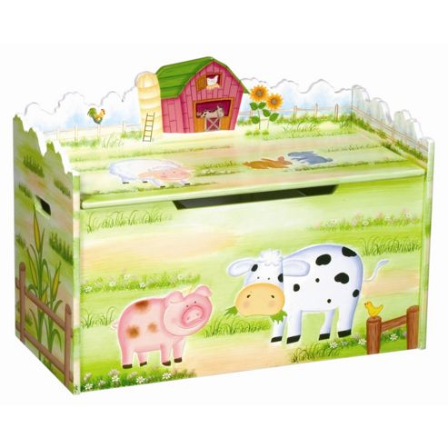 Guidecraft Farmhouse Toy Box