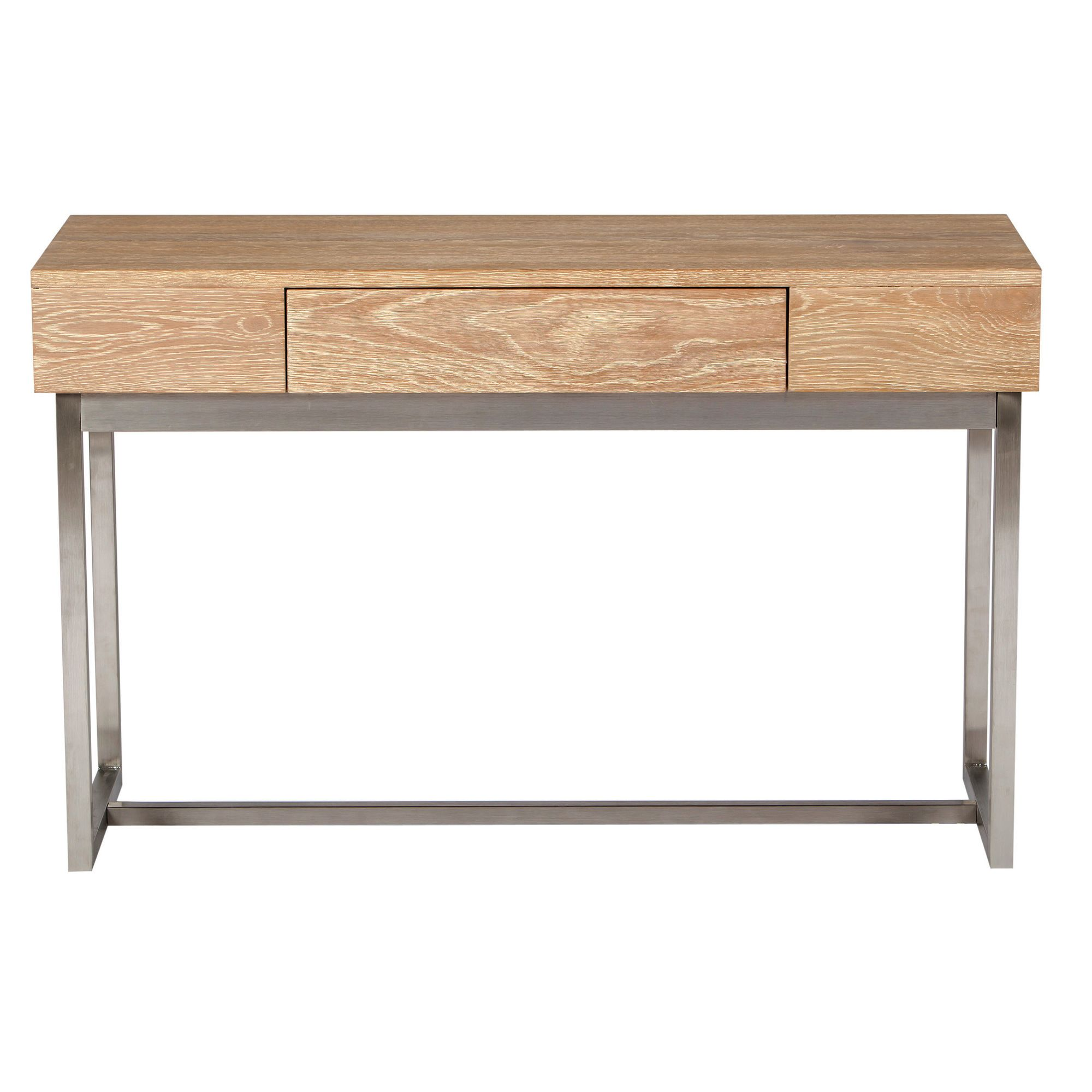 Chanter Drift Console Table in Oak