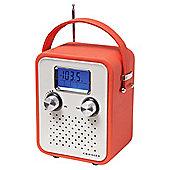 Crosley Songbird AM/FM Radio Red