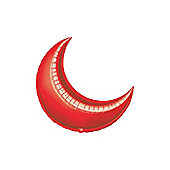 Red Crescent Balloons - 10' Foil Balloon (5pk)
