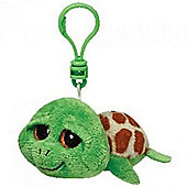 TY Beanie Boo Key Clip Zippy Turtle