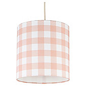 Tesco Kids Pastel Check Ceiling Shade